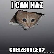 Cheezburger Meme Creator - i can haz cheezburger ceiling cat meme generator