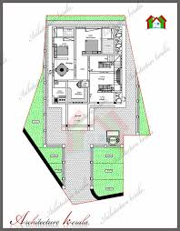 4 bedroom house plan in 1800 square feet architecture kerala