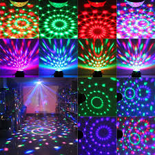 xmas lights for sale rgb led mp3 dj club disco party crystal magic ball stage laser xmas