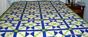 Blue And Green Crib Bedding Sets Blue And Green Quilt Sets Quilt In A Day Pineapple Blossom