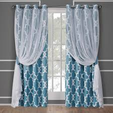 turquoise window treatments the home depot