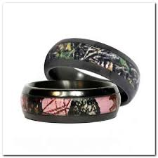 camo wedding band sets pink camo wedding rings design