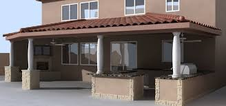 Stucco Patio Cover Designs Backyard Stucco Patio Cover Lots Of Pics