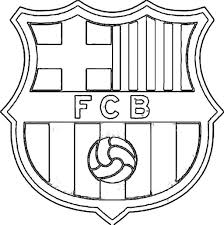 barcelona logo coloring page superman shield coloring page