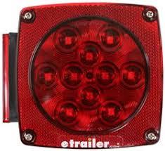 led tail lights for a trailer tail lights trailer lights etrailer com