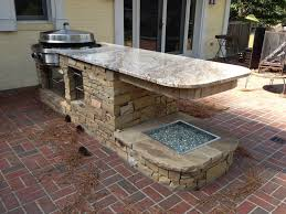 outdoor kitchen unique outdoor decorating idea with kitchen