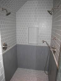how bathroom tile wainscoting to cover dated bathroom tile with