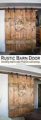 How To Make A Sliding Barn Door by Diy Barn Door Under 10 In 30 Minutes Diy Barn Door Barn Doors