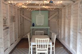 Garden Shed Lighting Ideas She Shed Inspiration 8 Low Budget Ideas That Add Value At