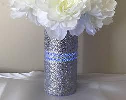 Silver Vases Wedding Centerpieces Silver Vase Etsy