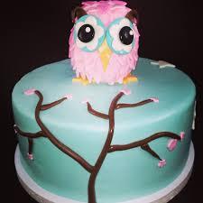owl birthday cakes owl birthday cake cakecentral