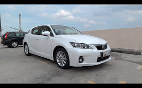 lexus ct 200h f sport for sale malaysia 2011 lexus ct 200h start up and full vehicle tour youtube
