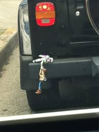 story buzz lightyear woody bumper ornament this would make