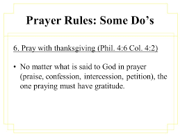 prayer the lord s guidelines to acceptable prayer ppt