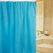 Aqua Blue Shower Curtains Light Blue Shower Curtain