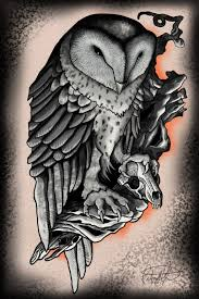 barn owl tattoo design in 2017 real photo pictures images and