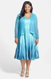 komarov sleeveless satin dress u0026 chiffon jacket plus size