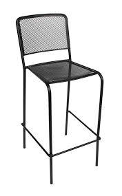 out door bar stools outdoor cast aluminum wrought iron weatherized steel