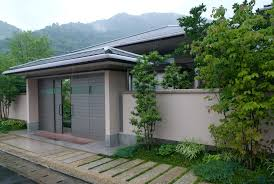 cool house front water garden full imagas brown wall watergarden