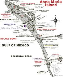 Sanibel Island Map Restaurant Guide For Anna Maria Island Holmes Beach Bradenton