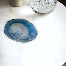 faux agate side table side table agate side table white marble and blue target agate