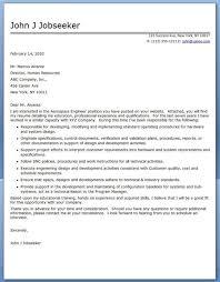 aerodynamics engineer cover letter resume cover letter for