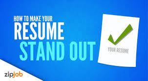 resume stand out making your resume stand out from the crowd 2017 youtube