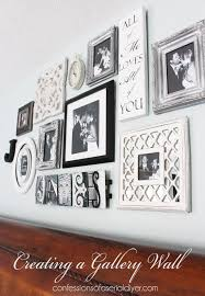 how to do a gallery wall bedroom gallery wall a decorating challenge confessions of a
