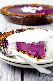 vegan purple sweet potato pie the endless meal