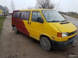 volkswagen yellow volkswagen caravelle automobiliai ir mikroautobusai autogidas