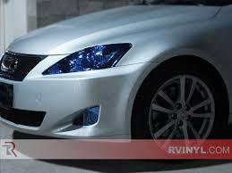 white lexus 2010 rtint lexus is 2006 2010 headlight tint film