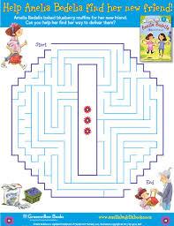 amelia bedelia blueberry muffin maze детское