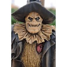 bird halloween mask rotted scarecrow costume seriously scary fancy dress escapade uk