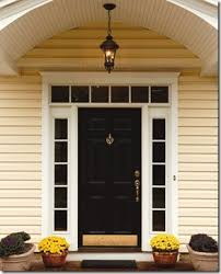 Exterior Door With Side Lights Creative Home Expressions Paint The Sidelights Or Not