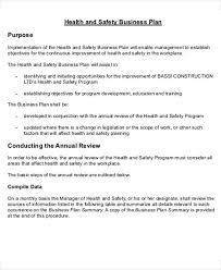 construction business plan template 9 download free documents