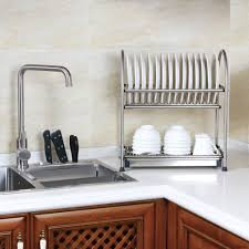 over the sink dish drying rack furniture stainless steel dish rack beautiful cosyzone over sink