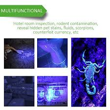 black light mold detection ustellar 100 led uv blacklight flashlight 30 feet flood effect