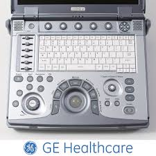 travel laptop ultrasound ge logiq e linear scanner machine on
