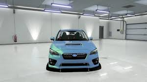 subaru sports car 2017 subaru wrx sti 2017 gta5 mods com