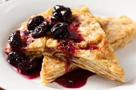 kosher for passover matzah matzo brei with roasted cherries recipe chowhound