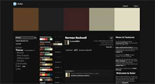 interesting and useful color scheme generators 25 tools 25 awesome tools for choosing a website color scheme website