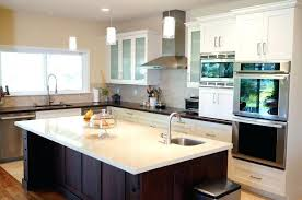 One Wall Kitchen With Island Designs Single Wall Kitchen With Island Design Corbetttoomsen