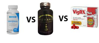 vasoplexx vs biomanix vs vigrx plus best pill for bigger