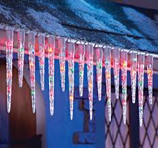 beautiful color ideas christmas icicle lights for hall kitchen