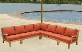 Teak Sectional Patio Furniture Teak Sectional Sofa Set