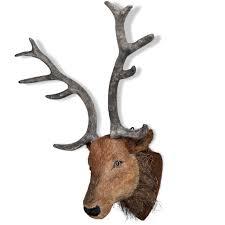 fake deer deer head wall mounted decoration natural looking amazon co uk