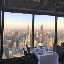 signature room at the 95th restaurant chicago il opentable