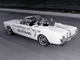 1964 Black Mustang Ford Mustang Pace Car Ebay