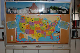 World Map Bulletin Board by Nothing To Lose Where In The World Is Your Hometown