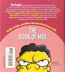 the book of moe simpsons library of wisdom matt groening